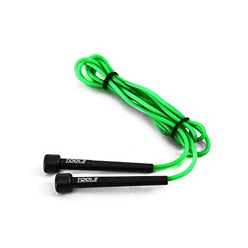 TOOLZ Skipping Rope – Gewichtetes Springseil zum Warm-Up, Ausdauer- & Koordinationstraining – 3 m langes Jump Rope