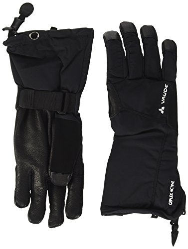 VAUDE Handschuhe Roccia Gloves, Black, 6, 06135