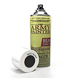 the army painter color primer, matt black