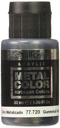 Acrylicos Vallejo 32 ml Métal Couleur Gris anthracite