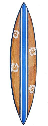 Surfbrett 100cm Deko Surfer Surfboard Tiki Südsee Neu