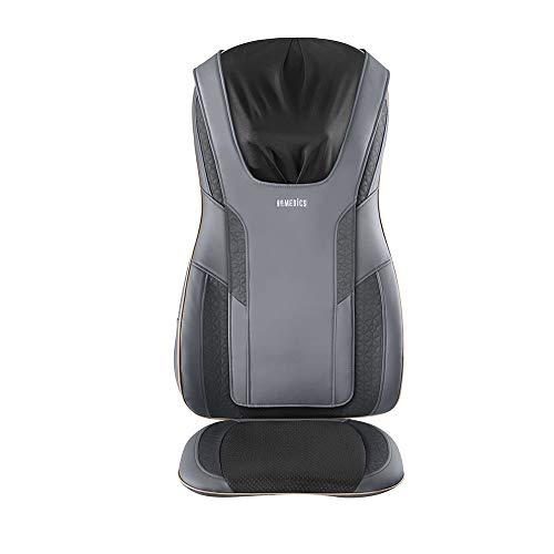 HoMedics Serenity Shiatsu Massage Cushion with Sound & Meditation|5 Massage Styles For Pain Relief, Targets Neck & Shoulders, Plus Soothing Heat | App Enabled