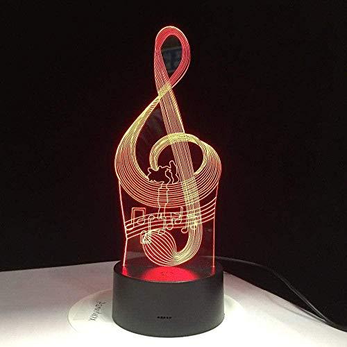 Lámpara de ilusión 3D Luz de noche LED 7 colores Cambiar Modelado visual de Naruto Figura de anime Botón táctil para niños Lámpara de mesa USB Decoración para el hogar Pantalla táctil de regalo