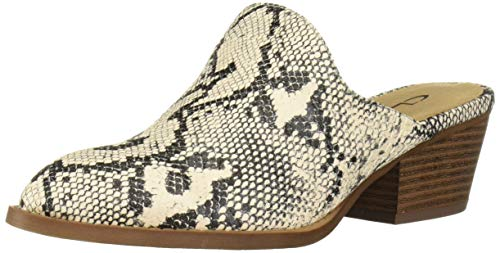 CL by Chinese Laundry Women's Catherin Mule, Beige Snake, 9.5 M US
