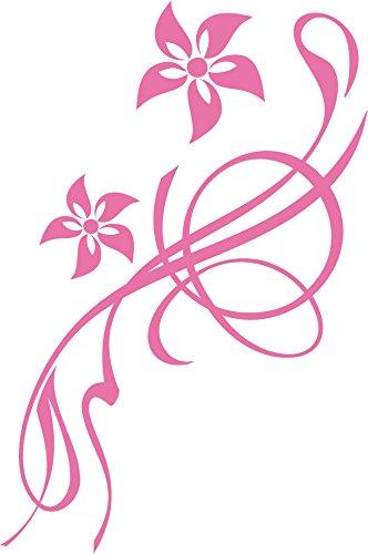 GRAZDesign Bad Deko Tattoos Klebefolie Blumen Blüten Ornamente - Aufkleber Toilettendeckel WC Deckel Sitz Schönes Motiv - Klodeckel Aufkleber lustige Blume / 20x30cm / 650194_30x20_045