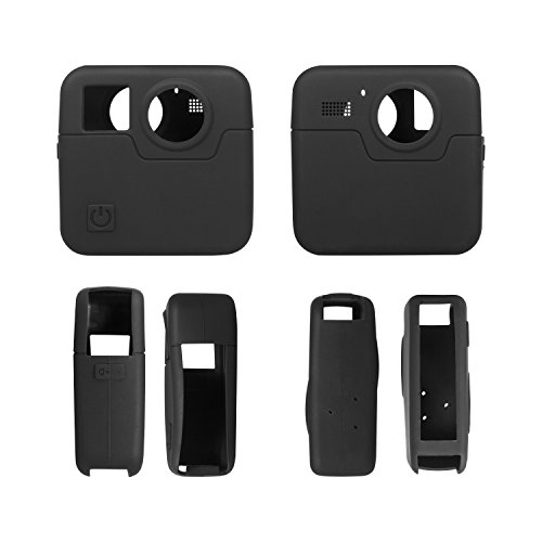 Rhodesy Silicone Rubber Protective Housing Case for GoPro Fusion