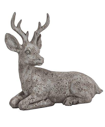 KLP Hirsch Elch Rentier REH Bock Deko Garten Tier Figur Gartendeko Skulptur Statue
