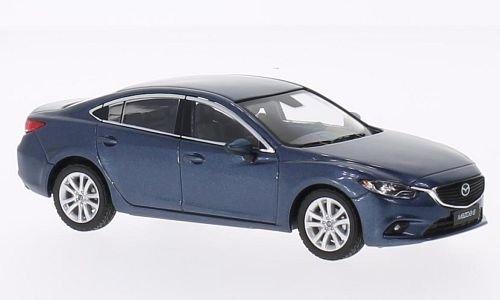 Mazda 6, metallic-blau, 2013, Modellauto, Fertigmodell, Premium X 1:43