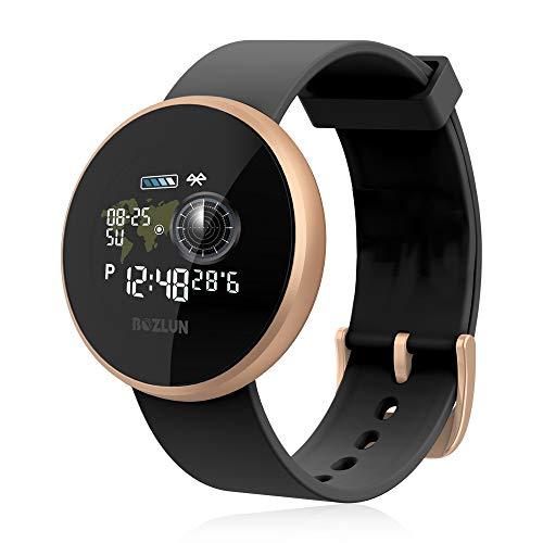 Smartwatch Herren Damen , LIEBIG Fitness Armband Fitness Tracker Smart Watch IP68 Wasserdicht Fitness Uhr mit Pulsuhren Schrittzähler Armbanduhr Sportuhr für iOS Android