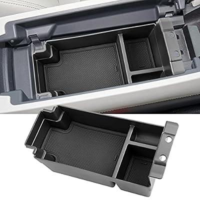 Ecarzo Center Console Organizer for 2022 2021 Nissan Rogue Console Tray Storage Box Accessories