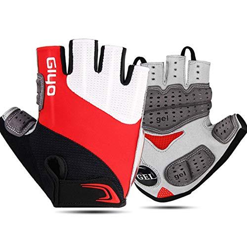 DiaTech Mountainbike-Handschuhe Halbfingerhandschuhe Fahrradhandschuhe Fahrradhandschuhe Für Männer Und Frauen - rutschfeste, Stoßdämpfende Gel-Handschuhe Atmungsaktive Fahrradhandschuhe,XL