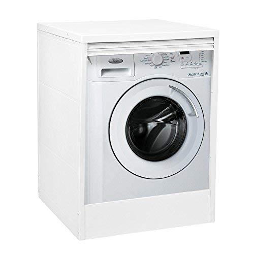 Trioplast Armario Box - Mueble cubrecamadora de resina para lavadora - Secadora exterior - 68 cm