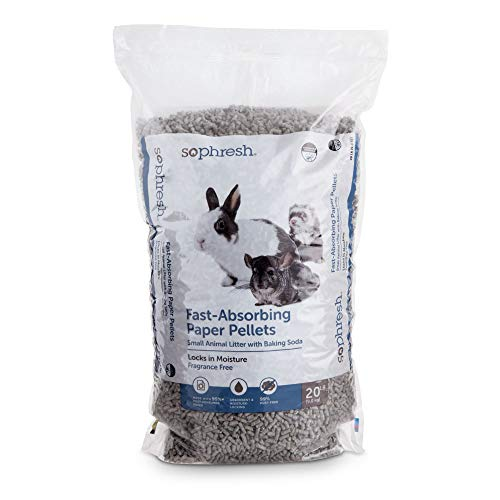 So Phresh Fast-Absorbing Paper Pellets Small Animal Litter, 20 lbs.