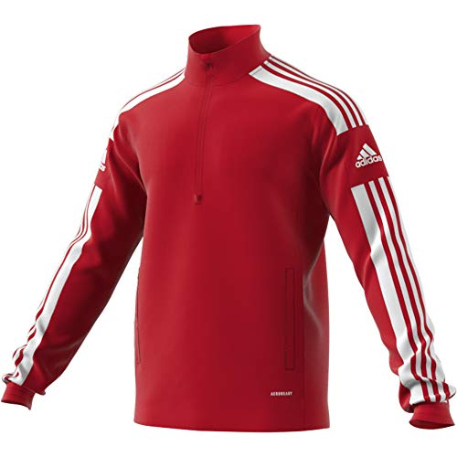 adidas SQ21 TR Top Pullover, Mens, Team Power Red/White, M