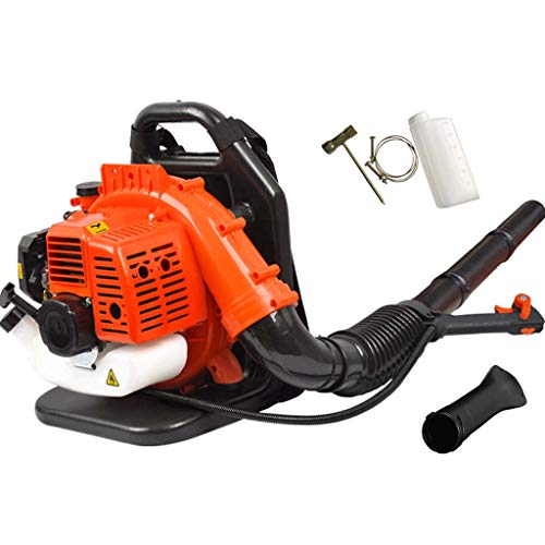 JXS Backpack Leaf Blower,Professional 2-Cycle Fuel Oil Blower 1250W High Power - Used for Cleaning The Snow on Roads And Forests