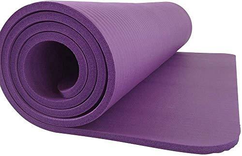 NDYD Mats de Yoga Caucho y plástico Sin resbalón Fitness Mat Suplementos de Yoga STRENDING Mat (Color: Azul) DSB (Color : Purple)