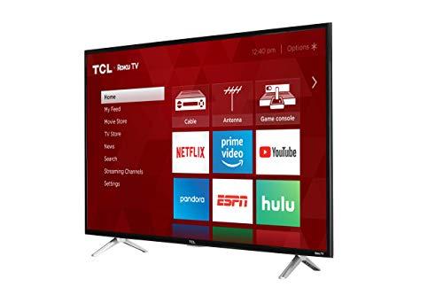 TCL 32S305 32-Inch 720p Roku Smart LED TV (2017 Model)