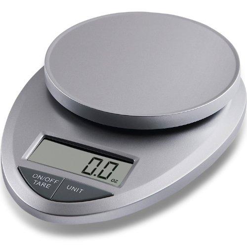 EatSmart ESKS-01  Precision Pro Digital Kitchen Scale, Silver
