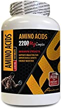 pre Workout Pills for Energy - Amino ACIDS 2200 mg Complex - Maximum Strength - Amino acids Supplements for Men - 1 Bottle 150 Tablets