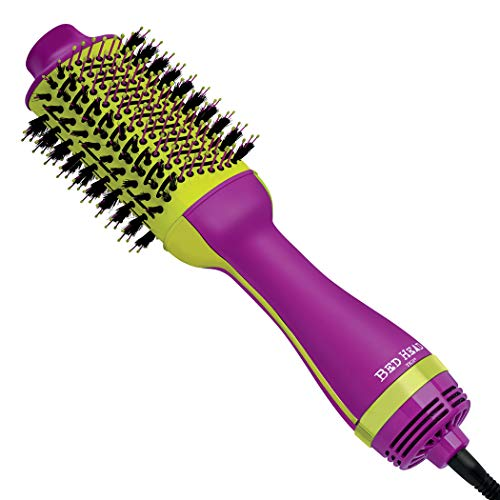 Bed Head One-Step Hair Dryer and Volumizer Hot Air Brush, Violet