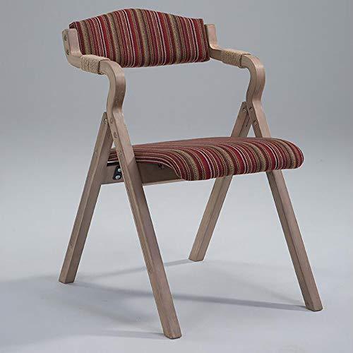 ZXWNB Retro Bentwood Dining Chair Moderne Minimalist Old Homestay Folding Dining Chair Kaffeemaschine Sessel Lehner Restaurant Study Lounge,H,A1