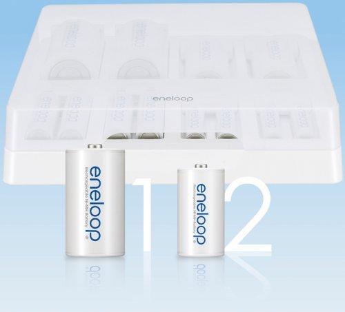 SANYO 「eneloop」シリーズ ユニバーサル充電器 (単1形~単4形兼用) NC-TGU01
