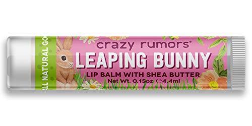 Crazy Rumours Leaping Bunny Plum Apricot Lip Balm .440ml