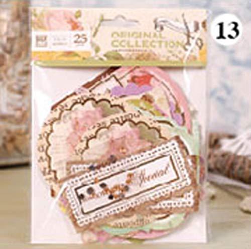 Hete verkoop Fashon DIY kaart fotoalbum achtergrond decoratieve scrapbooking handwerk verfraaiing damast papier verjaarboek kaart maken 13 zoals op de foto.