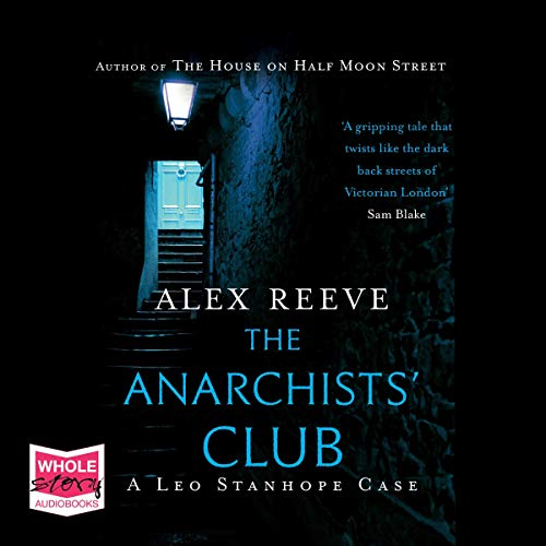 The Anarchists' Club audiobook cover art