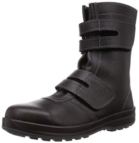 [シモン] 安全靴 長編上 JIS規格 耐滑 耐油 快適 軽量 スタンダード マジック SS38 黒 28.0 cm 3E