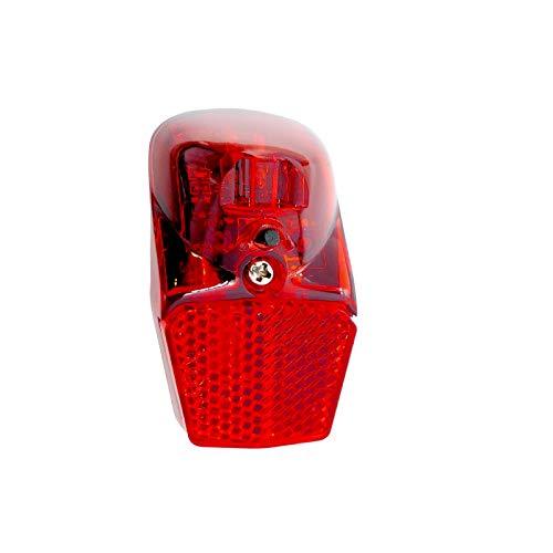 P4B | LED Batterie - Rücklicht für Ihr Fahrrad | StVZO zugelassen | Mit Sicherheits-Reflektor | Mit An-/Aus Schalter
