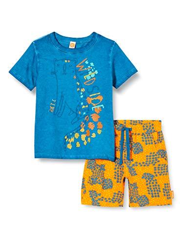 Tuc Tuc Conjunto Camiseta Y Short Punto Estampado NIÑO Azul Wild Side