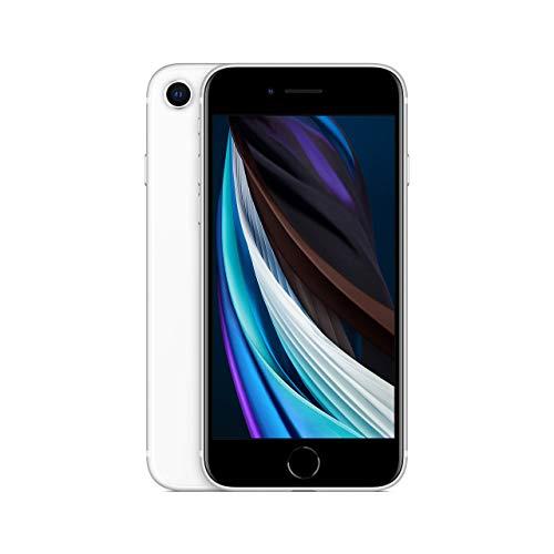 Apple iPhone SE, 64GB, White - Fully Unlocked (Renewed) Montana