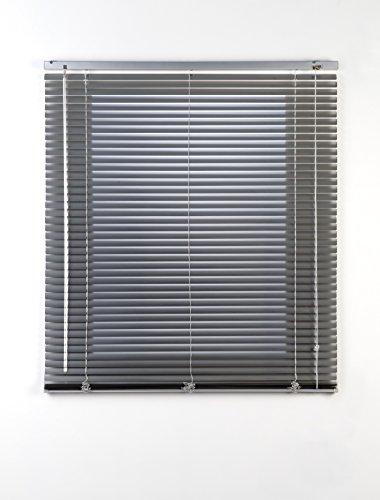 Estores Basic- Persiana Veneciana Aluminio, Plata, 150x175 cm
