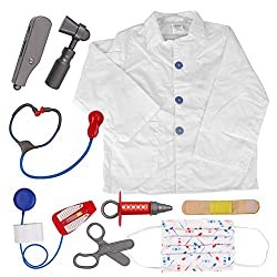 Doctor Role Play Set / Dress Up Surgeon Costumes Set For Kids