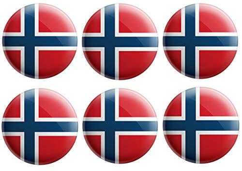 AK Giftshop - Insignias de bandera de Svalbard y Jan Mayen Islands...