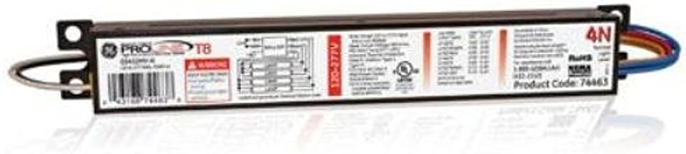 GE Lighting 74463 GE432MV-N 120/277-Volt Multi-Volt ProLine Electronic Fluorescent T8 Instant Start Ballast 4 or 3 F32T8 Lamps