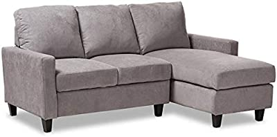 Amazon Com Honbay Convertible Sectional Sofa Couch L