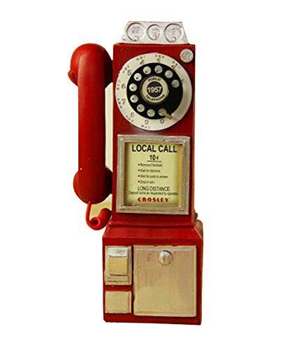 Black Temptation Klassische Retro-Modelle Ornamente Antiquitäten Sammlungen (Britisches Telefon)