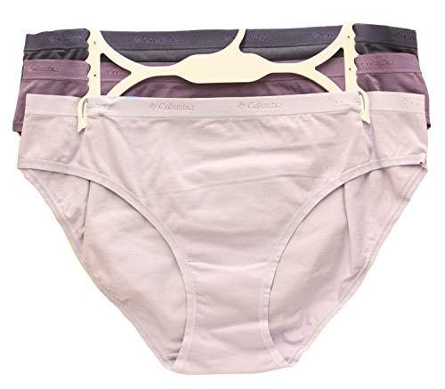 Columbia - Bikini elástico de cuatro vías (3 unidades) - - Small