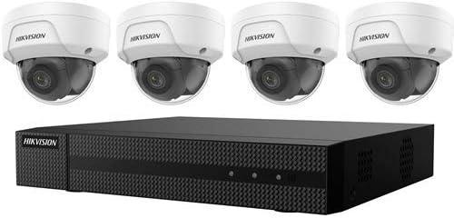 Hikvision KI-K41D44 4K NVR Value Express Kits - Network Video Recorder, Camera - 2688 x 1520 Camera (Renewed)