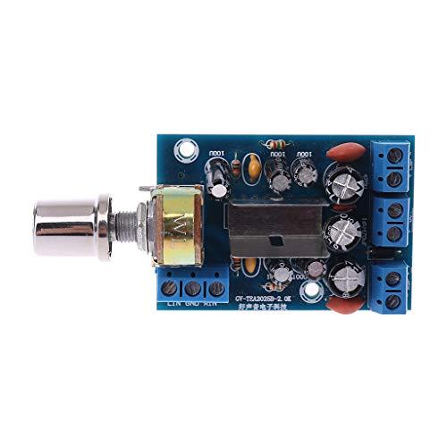 BIlinli TEA2025B 2.0 Stereo Dual Channel Mini Verstärkerplatine Für PC Lautsprecher 3W + 3W