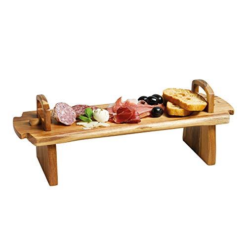 Artesa Kitchen Craft Master Class -Piatto da Portata, in Legno, 37 x 30 x 13 cm, Colore: Marrone