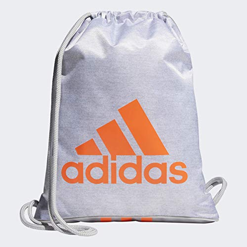 adidas Burst Ii - Mochila unisex, Unisex, Bolsa, 104397, Maillot Blanco/Gris Dos/Hi - Res Coral, Talla única