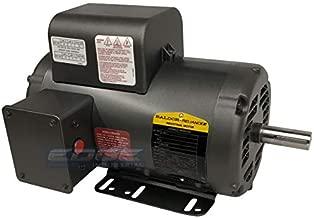 BALDOR 5HP AIR COMPRESSOR ELECTRIC MOTOR, 56HZ FRAME, 3450RPM, 208/230V, SINGLE-PHASE, 7/8