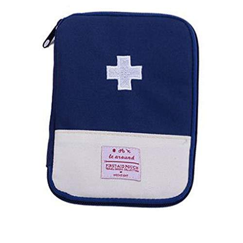 Guangcailun Bolso de los Primeros auxil de Viaje Bolsa médica Supervivencia de la Emergencia, Kit de Viaje Bolsa de Inicio el Viaje de cping