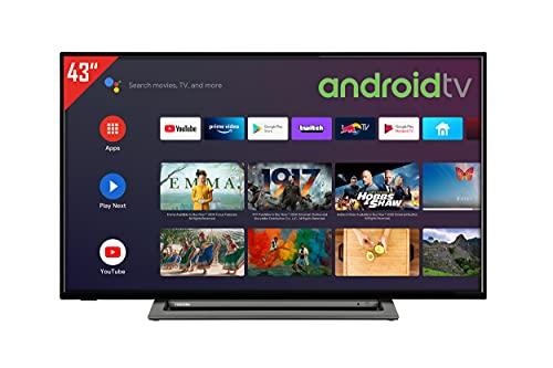 Toshiba 43LA3B63DA 43 Zoll Fernseher / Android TV (Full HD, Triple-Tuner, Smart TV, Bluetooth)