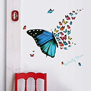Beautiful 3D Butterfly Stickers Making Stickers Wall Sticker Art Decor Decals Wall Paper