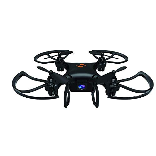ADLIN Cámara avión no tripulado WiFi FPV HD 720p, mejores aviones no tripulados for principiantes con el mantenimiento de altitud, control de voz, gestos Fotografía reconocimiento, trayectoria de vuel