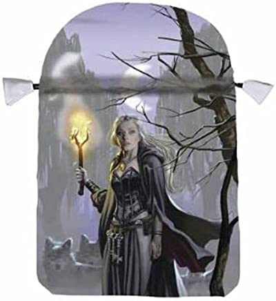 Witches Moon Satin Tarot Bag by Ellen Dugan Mark Evans Llewellyn(2012-07-08)